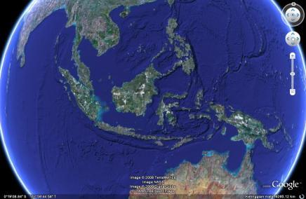 Indonesia Luas Lho!