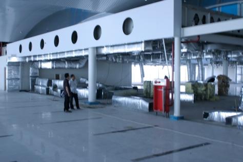 Kualanamu Survey 11-12 Peb 2013 032 = bagian dari ruang II-3 yang berplafon
